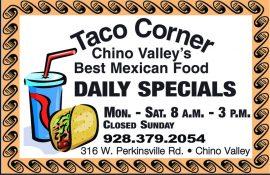 Taco Corner 7-30-20