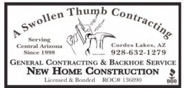 A swollen Thumb contracting